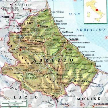 Abruzzo Cartina Dettagliata Pieterduisenberg