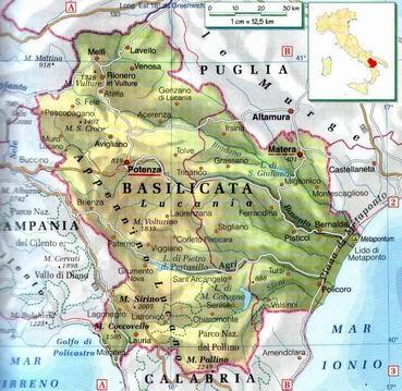 Cartina Basilicata.Basilicata Centro Politiche E Bioeconomia