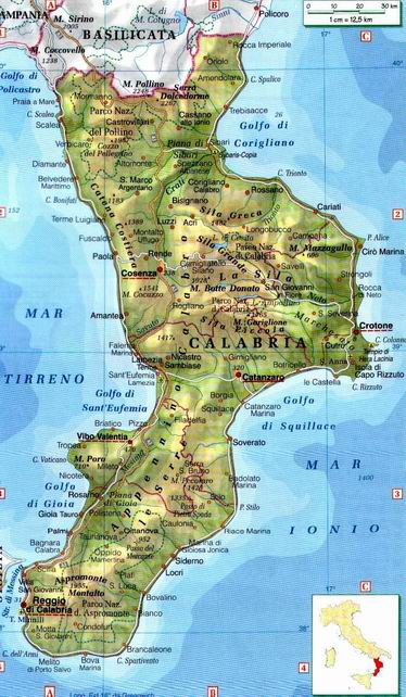 Cartina Fisica Della Calabria.Calabria Centro Politiche E Bioeconomia