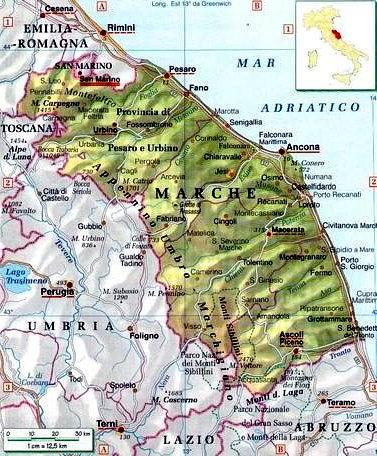 Cartina Politica Regione Marche.Marche Centro Politiche E Bioeconomia