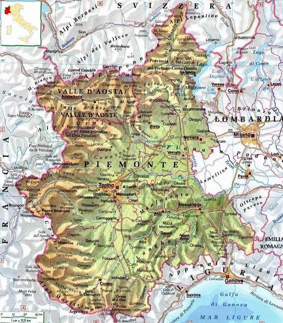 Regione Piemonte Cartina Fisica.Piemonte Centro Politiche E Bioeconomia